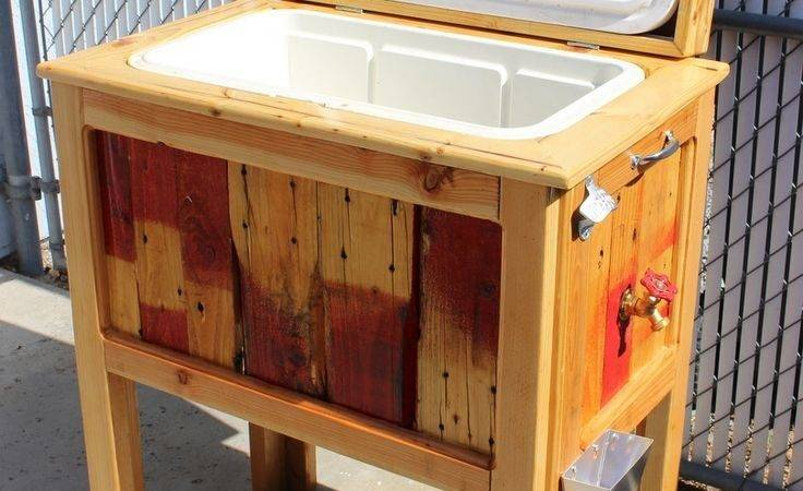 Best Cooler Stand Ideas Pinterest Pallet