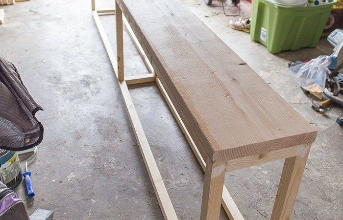 Best Diy Sofa Table Ideas Pinterest Behind Couch