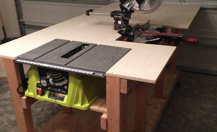Best Diy Workbench Ideas Pinterest Garage