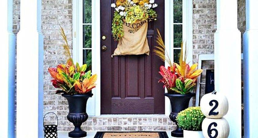 Best Fall Porch Decorating Ideas Designs