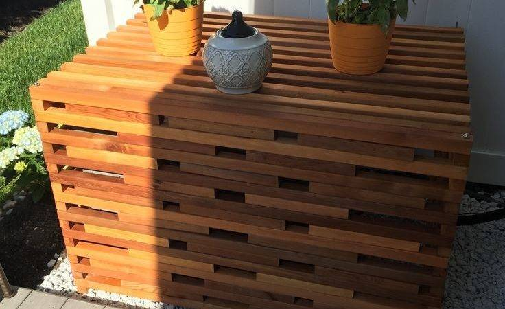 Decorative Outdoor Air Conditioner Cover  from cdn.gabenjenny.com