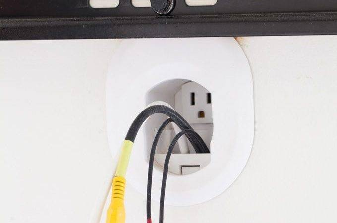 Best Hide Cords Ideas Pinterest Hiding