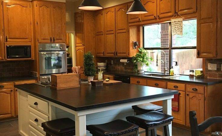 Best Honey Oak Cabinets Ideas Pinterest Kitchens
