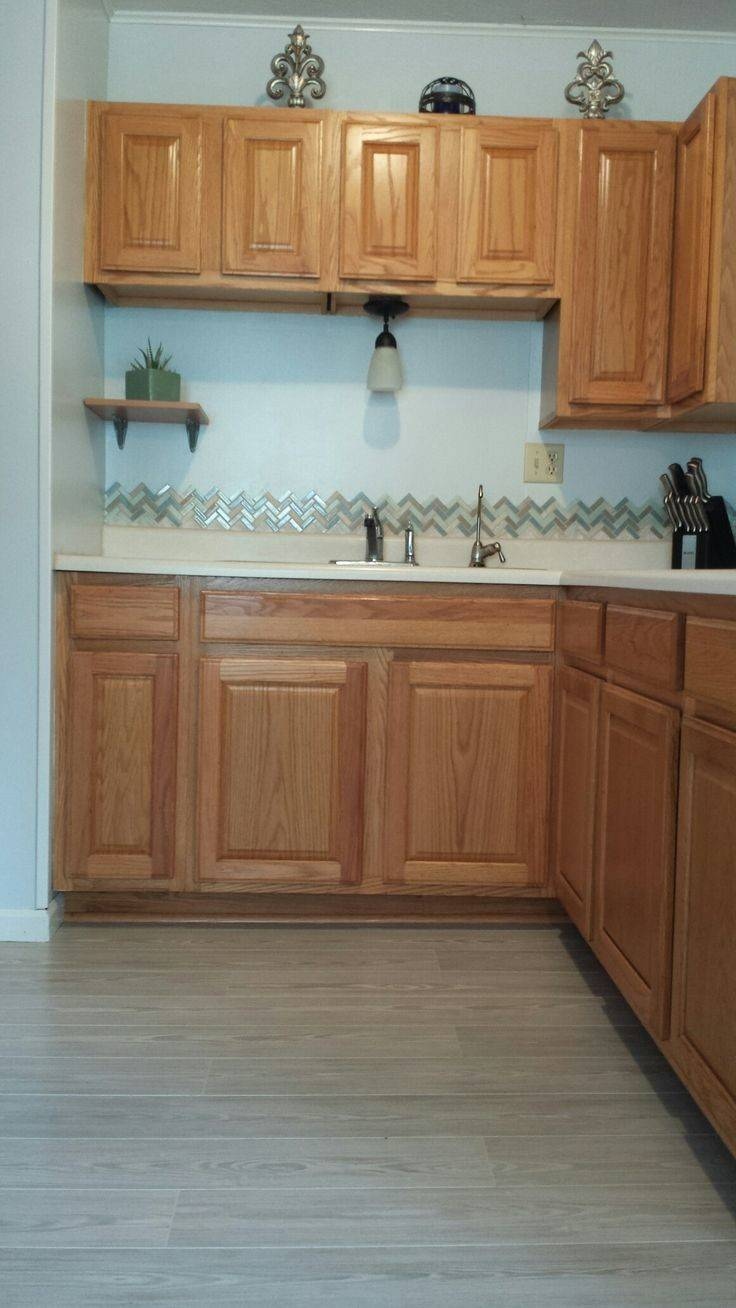 Best Honey Oak Cabinets Ideas Pinterest Gabe Jenny Homes
