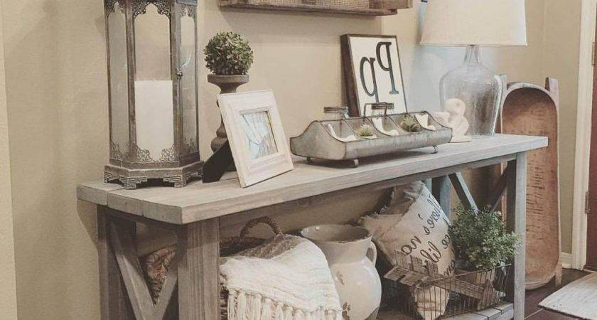Best Ideas Entryway Table Decor