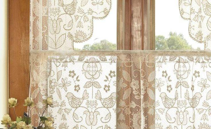 Best Lace Curtains Ideas Pinterest Shabby Chic
