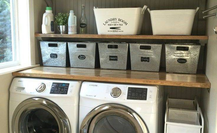Best Laundry Room Makeovers Ideas Pinterest Small