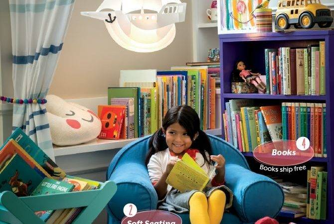 Best Library Spaces Kids Pinterest
