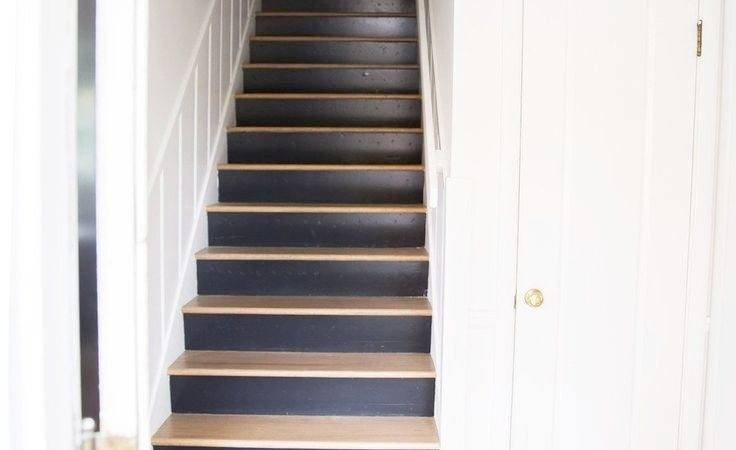 Best Paint Stair Risers Modern Style Home Design Ideas