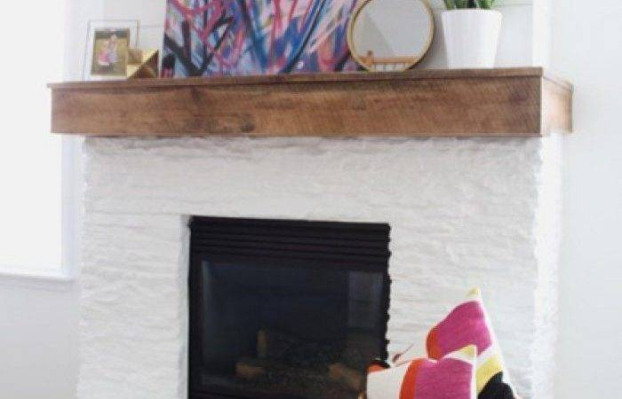 Best Painted Stone Fireplace Ideas Pinterest