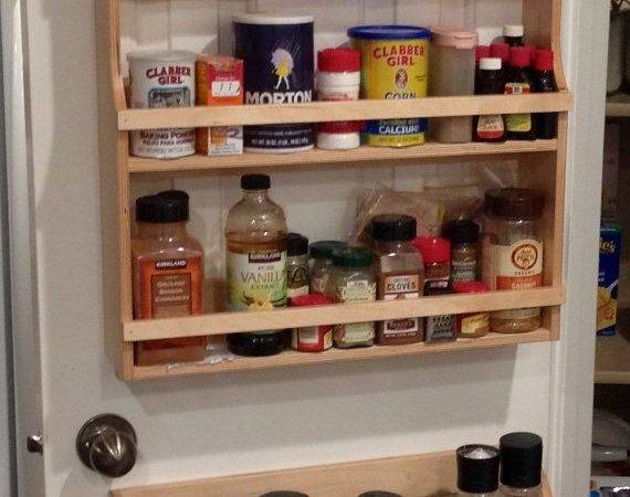 Best Pantry Door Rack Ideas Pinterest Diy