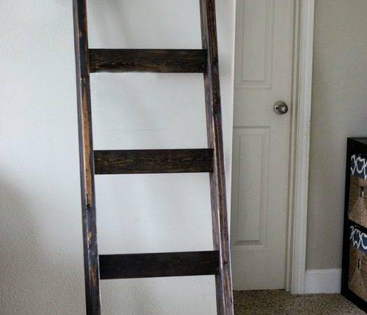 Best Quilt Ladder Ideas Pinterest Blanket Holder
