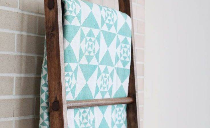 Best Quilt Ladder Ideas Pinterest Diy Blanket