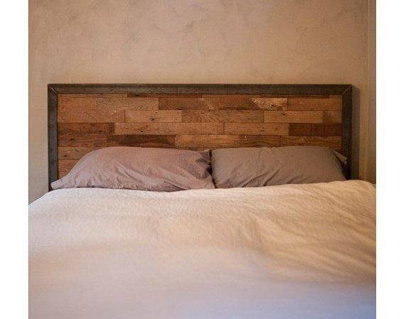 Best Reclaimed Wood Headboard Ideas Pinterest Diy