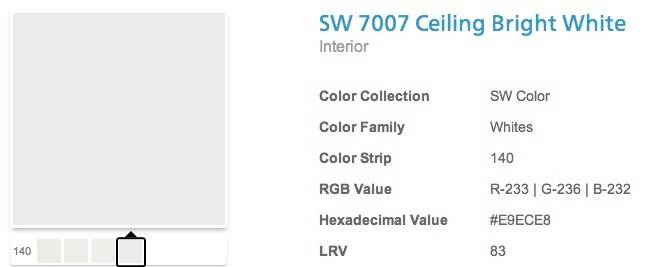 Best Sherwin Williams White Ceiling Paint