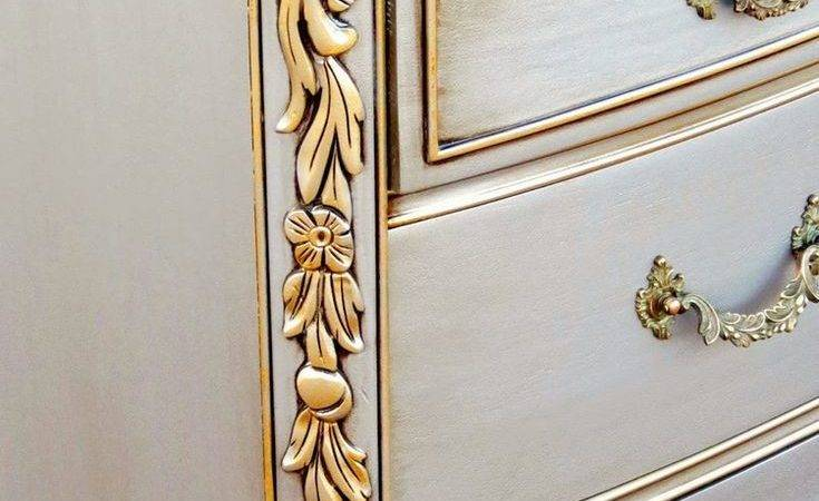 Best Silver Painted Furniture Ideas Pinterest