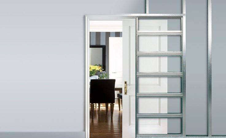 Best Sliding Pocket Door Making Pinterest