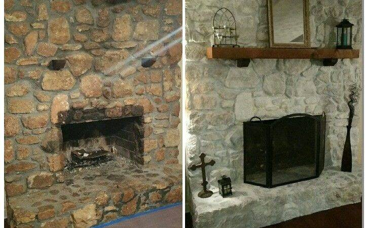 Best Stone Fireplace Makeover Ideas Pinterest