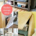 Best Storing Blankets Ideas Pinterest Blanket