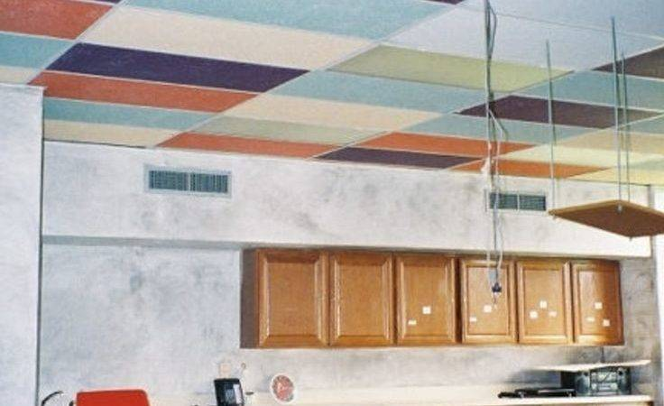 Best Updating Drop Ceiling Ideas Pinterest