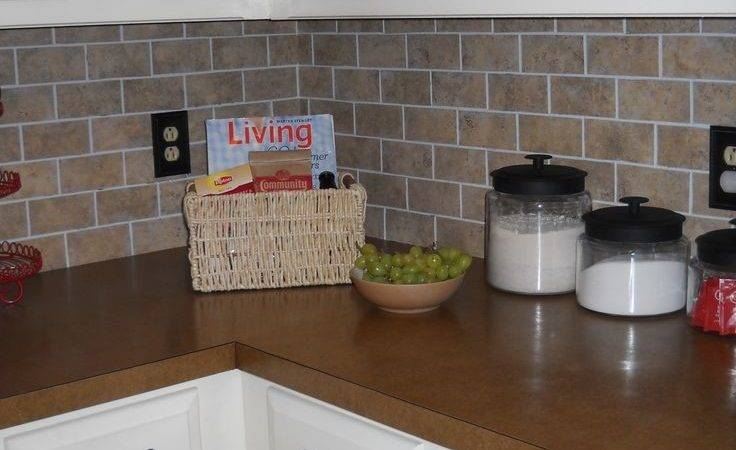 Best Vinyl Backsplash Ideas Pinterest Kitchen