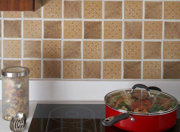 Best Vinyl Tile Backsplash Ideas Pinterest
