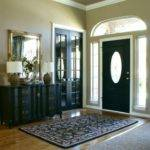 Black Front Door Simple Attracting Applications