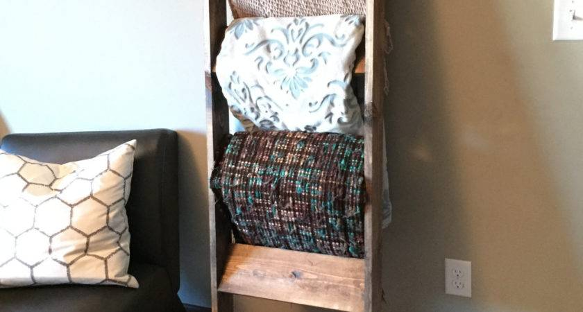 Blanket Towel Ladder
