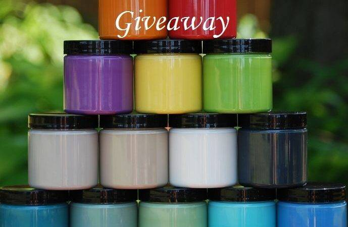 Blogiversary Shizzle Design Paint Wax Giveaway Knick