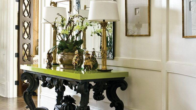 Bloombety Foyer Table Mirror Walls Ideas