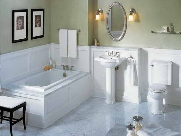 Bloombety Wainscoting Bathroom Ideas Glass