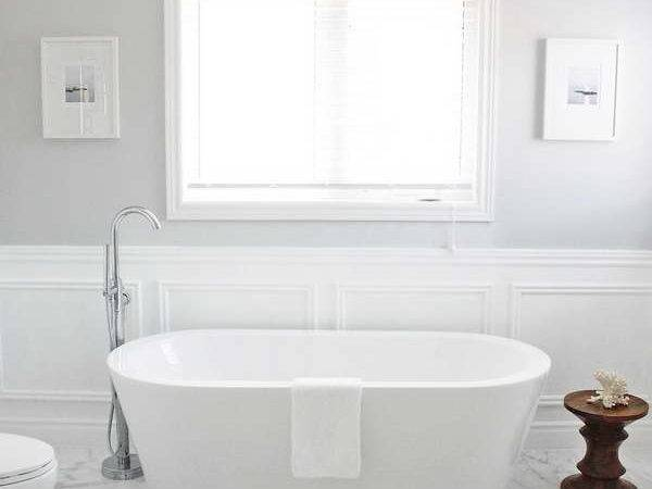 Bloombety Wainscoting Bathroom Ideas Unique Wood