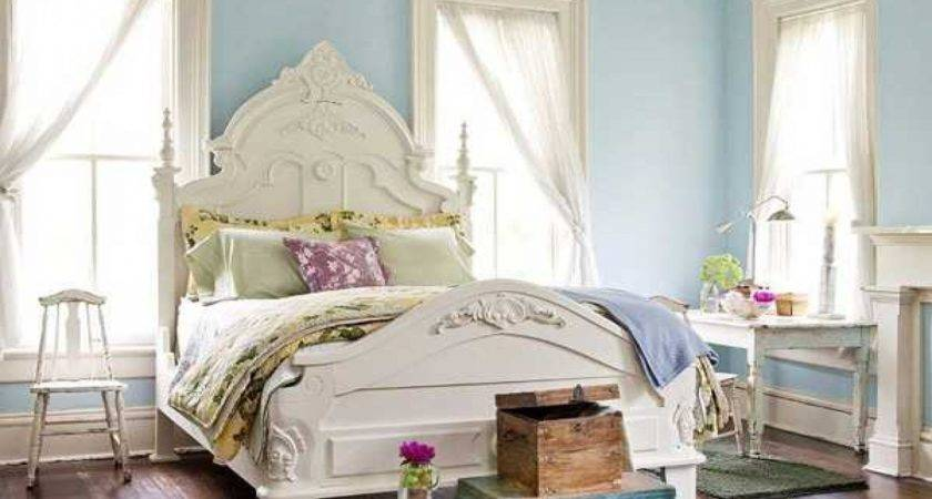 Blue Bedroom Designs Ideas Light Paint Walls