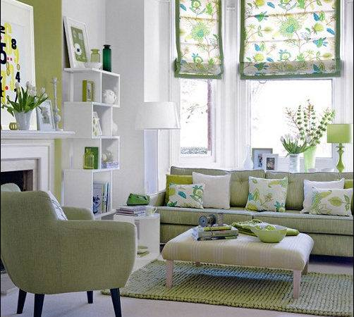 Blue Green Living Rooms Exotic House Interior Designs