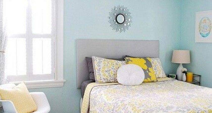 Blue Paint Colors Bedroom Interior