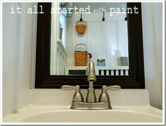 Blue White Bathroom Small Space Solutions