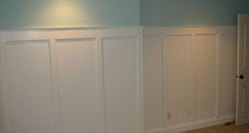 Board Batten Wainscoting Flat Panel