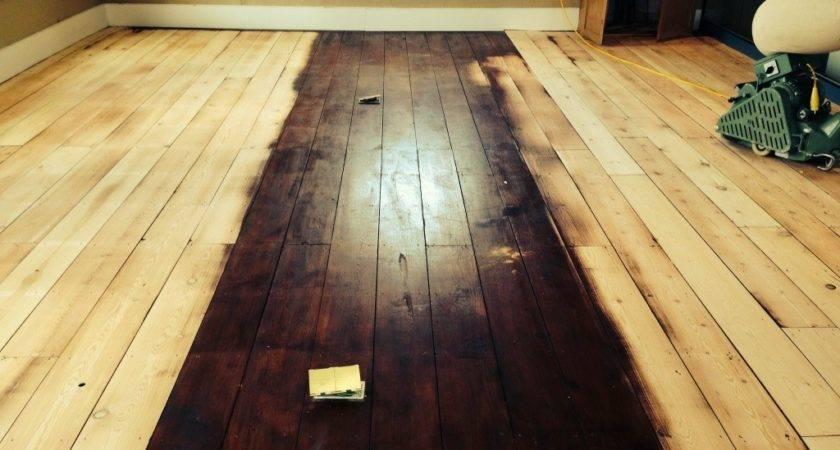 Bona Traffic Matt Finish Pine Boards Bath Floor