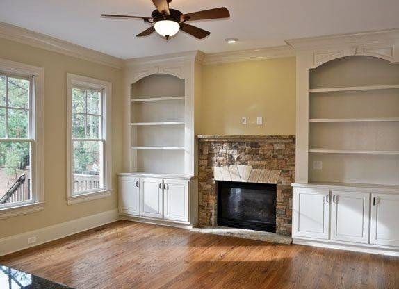Bookcases Around Fireplace Best Ideas
