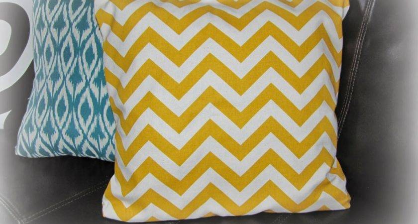 Bookgirlcreations Pinterest Challenge Sew Pillow Cover