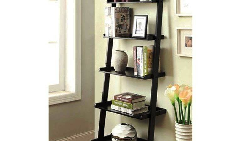 Bookshelf Stunning Ladder Shelf Ikea Wall Shelving