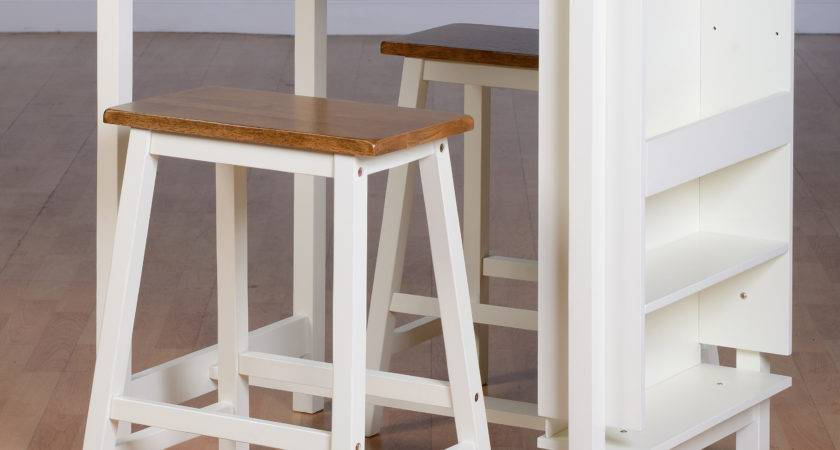 Breakfast Bar Table Chair Set Dining Stools