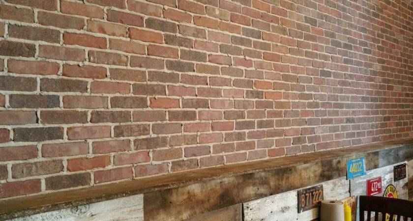 Brick Backsplash Design Fat Dan Chimney Masonry
