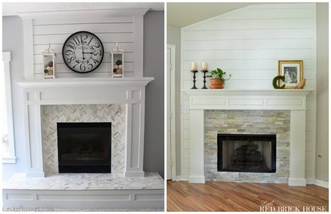 Brick Fireplace Makeover Always Look Perfect