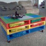 Brilliant Diy Tables Storing Playing Lego