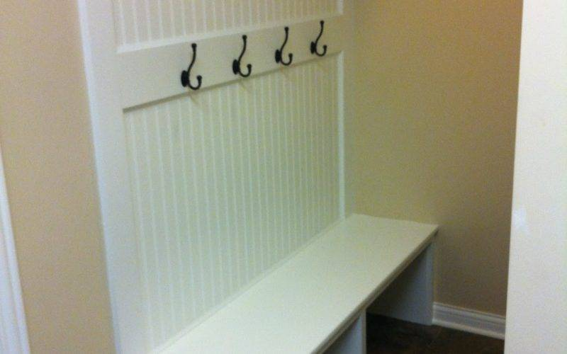 Britton House Mudroom Bench
