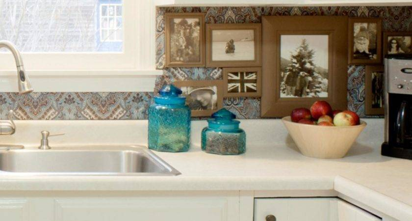 Budget Backsplash Projects Diy Kitchen Design Ideas