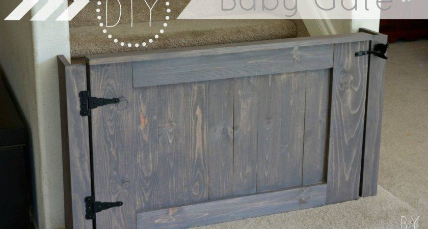 Build Baby Gate Diy Plans Tinsel