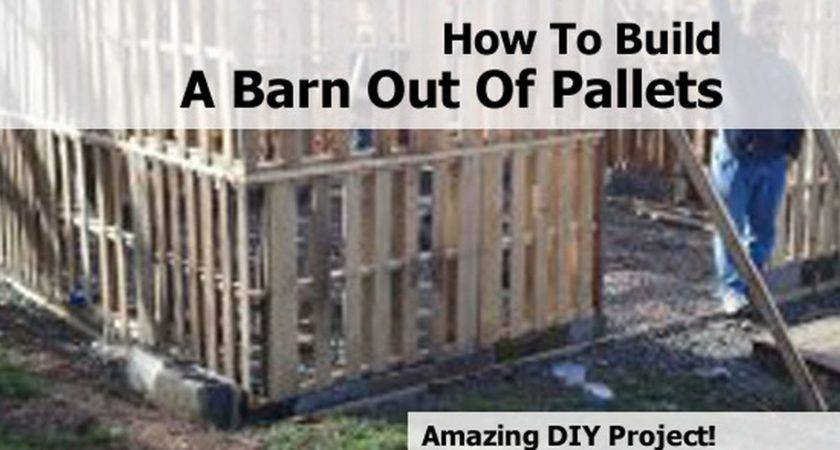 Build Barn Out Pallets