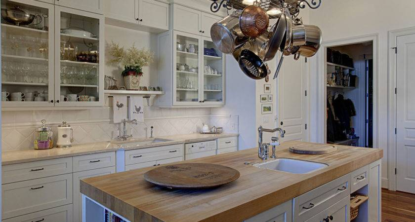 Build Butcher Block Countertop Traditional Style
